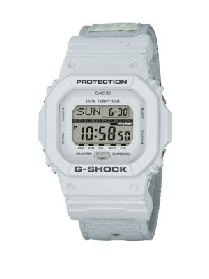 Shock and Water-Resistant Cloth Strap Watch