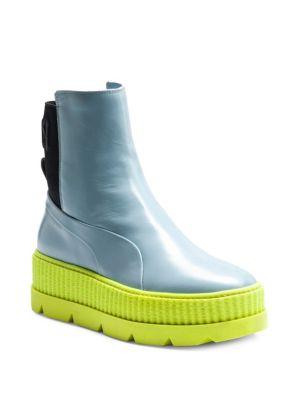 FENTY Puma x Rihanna Leather Chelsea Sneaker Boots