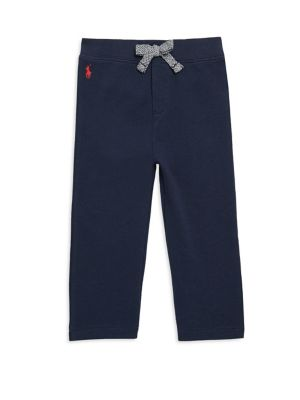 Baby's Cotton-Blend French Terry Pants