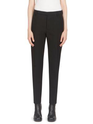 Austin Pleated Wool-Blend Pants