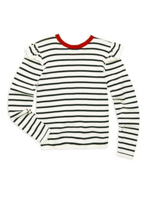 Toddler's, Little Girl's & Girl's Striped Sweater