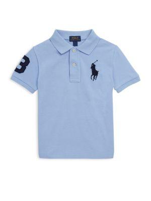Toddler's, Little Boy's & Boy's Cotton Short Sleeve Polo