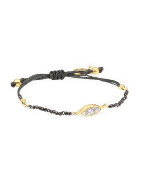 Rani Salma Grey Pyrite Bracelet