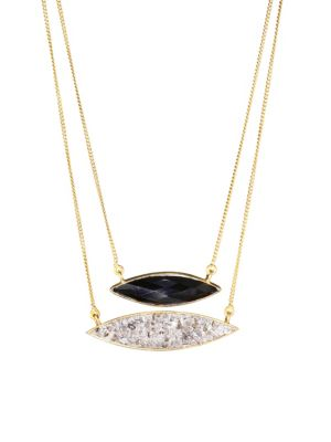 Holiday Black Onyx Necklace