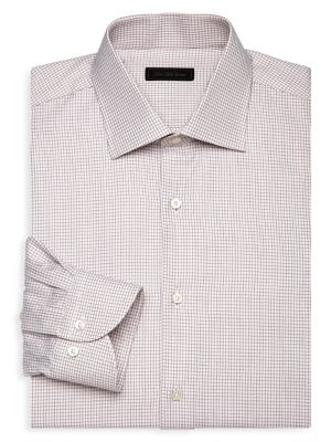 COLLECTION Check Cotton Dress Shirt