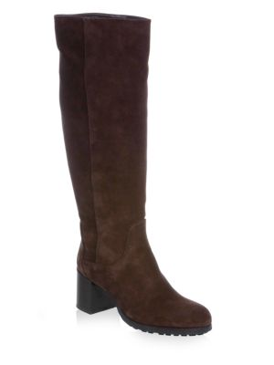 Evelin Suede Knee-High Boots