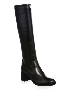 Aquatalia Evelin Leather Knee-High Boots 54WhFaAEh