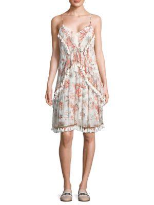 THURLEY Folklore Silk Dress
