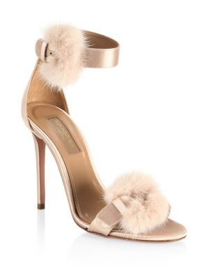 Sinatra Mink Fur Sandals