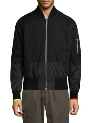 Classic Patch Bomber Jacket