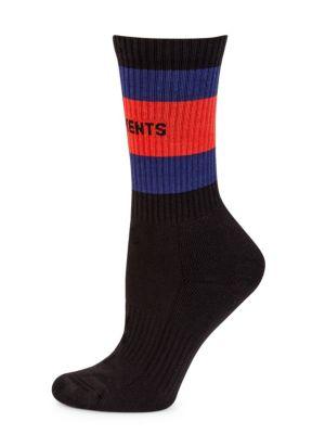VETEMENTS X TOMMY HILFIGER Crew Socks