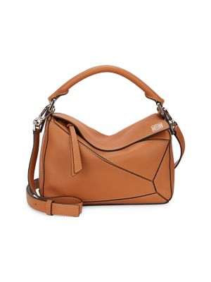 Small Puzzle Leather Bag