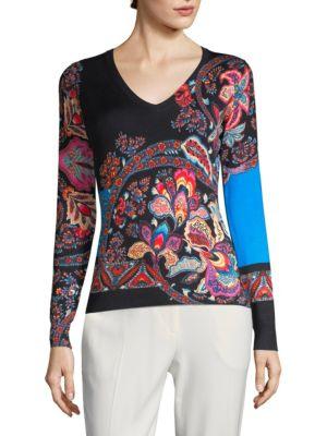 Fern Paisley Sweater
