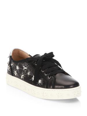 Cosmic Star Leather Sneakers