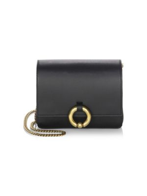 Baby Charlie Smooth Leather Clutch