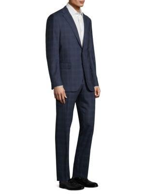 Alton Windowpane Wool Suit