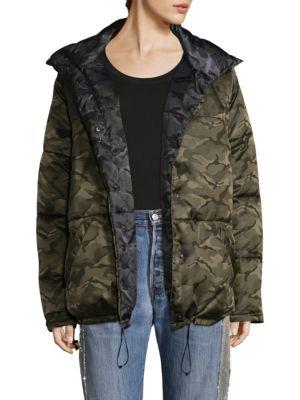 Reversible Camo Puffer Jacket