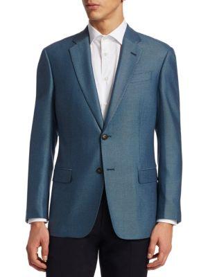 EMPORIO ARMANI | Textured G Line Sportcoat | Goxip