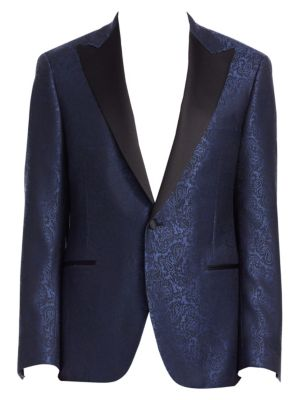 COLLECTION BY SAMUELSOHN Paisley Dinner Jacket