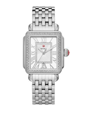 Deco Madison Diamond Stainless Steel Bracelet Watch