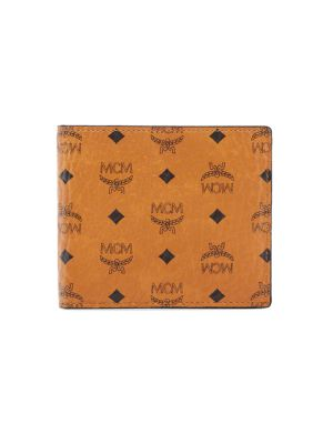 Small Bi-Fold Canvas & Leather Wallet