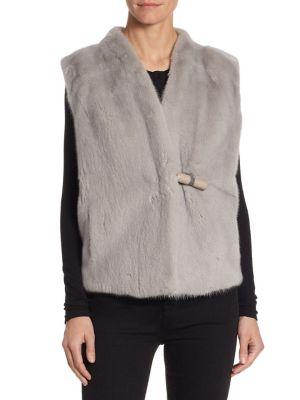 Mink Wool Vest