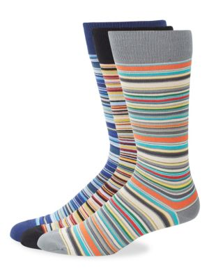 Striped Socks Three Pack