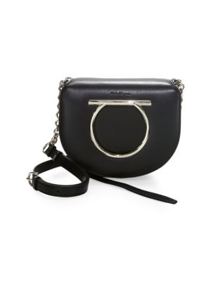 Flap Leather Crossbody Bag
