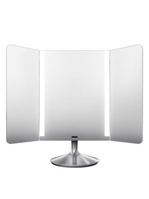 Wide View Sensor Makeup Mirror Pro by Simplehuman