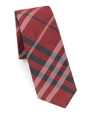 Manston Silk Plaid Tie