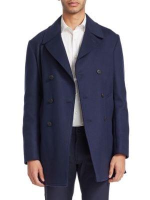 Tailored Wool Peacoat