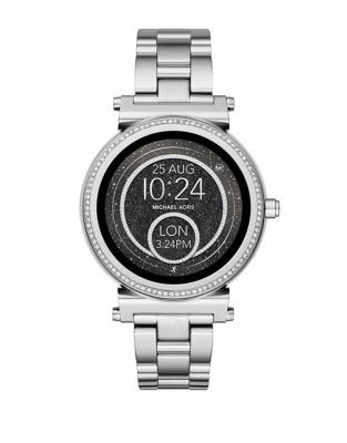 Sofie Stainless Steel Bracelet Touchscreen Smartwatch