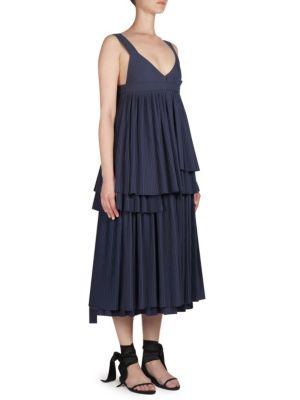 V-Neck Tank Midi Dress