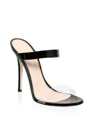 Alien Transparent Leather Sandals
