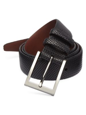 COLLECTION Perforated Leather Belt