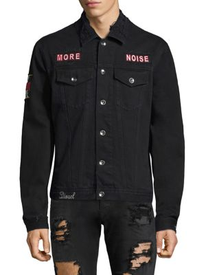 Hill Embroidered Denim Jacket