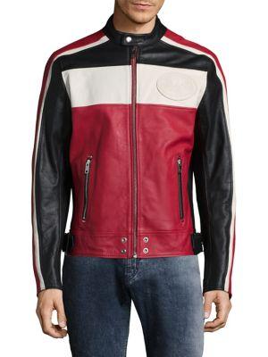 L-Street Leather Racer Jacket