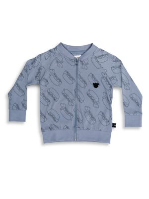Baby's, Toddler's & Little Boy's Hot Doggy Sweat Jacket