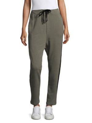 SANDRINE ROSE The Harem Drop Crotch Sweatpants