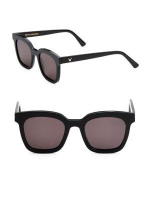 48MM Finn Square Sunglasses