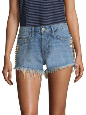 SANDRINE ROSE The Doll Denim Shorts
