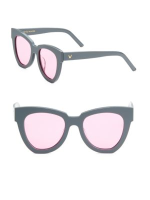 Laser 52MM Cat Eye Sunglasses