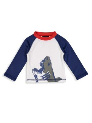 Baby's, Toddler's & Little Boy's Shark Rashguard Tee