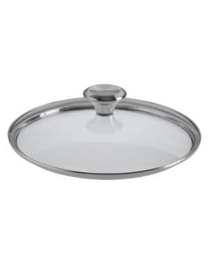 9.5-Inch Glass Lid with Knob