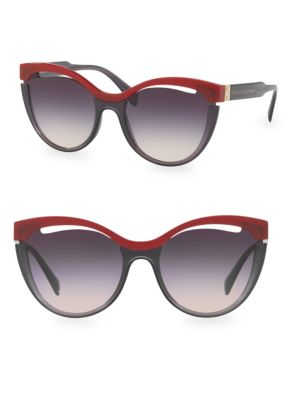 Injected Woman's Cat Eye Sunglasses