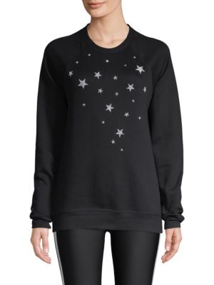 Swarovski 5-Point Nero Sweatshirt