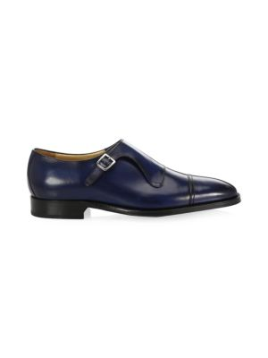 SUTOR MANTELLASSI Classic Leather Dress Shoes