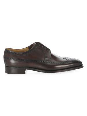 SUTOR MANTELLASSI Brogue Leather Derbys