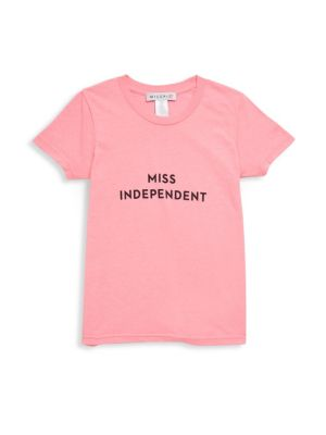 Little Girl's & Girl's Miss Independent Tee