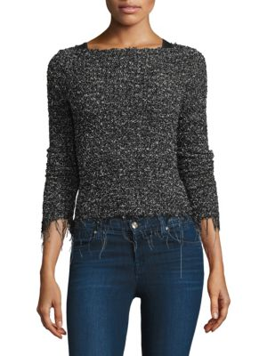 Speckled Roundneck Sweater